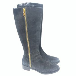 Butter Suede Black boot size 37